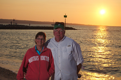 Mom and Dad @ Menemsha