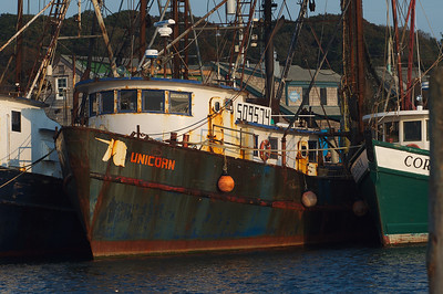 Fishing vessel in Menemsha Harbor