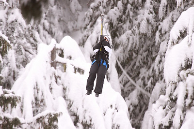 Our Ziptrek Tour on Blackcomb Mountain.