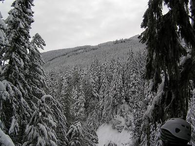 Our Ziptrek Tour on Blackcomb Mountain.