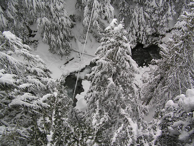 Ziptrek Tour on Blackcomb Mountain.