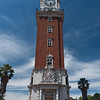 Torre de los Ingleses, donated by the British expat community in 1916 but then renamed Torre de Monumental during the Falklands War // Plaza San Martín, Retiro Neighborhood Buenos Aires, Argentina