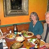 Plenty of excellent Mexican food in San Diego - with my hosts.