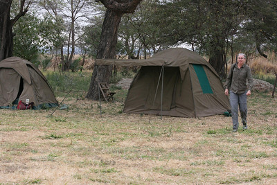 Campsite near Tarangire National Park