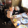 Eric and Natalie in the RV