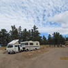 Eagles Nest campground at Carter Lake, site E8