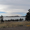 Nice shot of Carter Lake with cloud cover - Low water this time of year