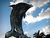 Dolphin Statue @ Sandals Grande Ocho Rios, Jamaica