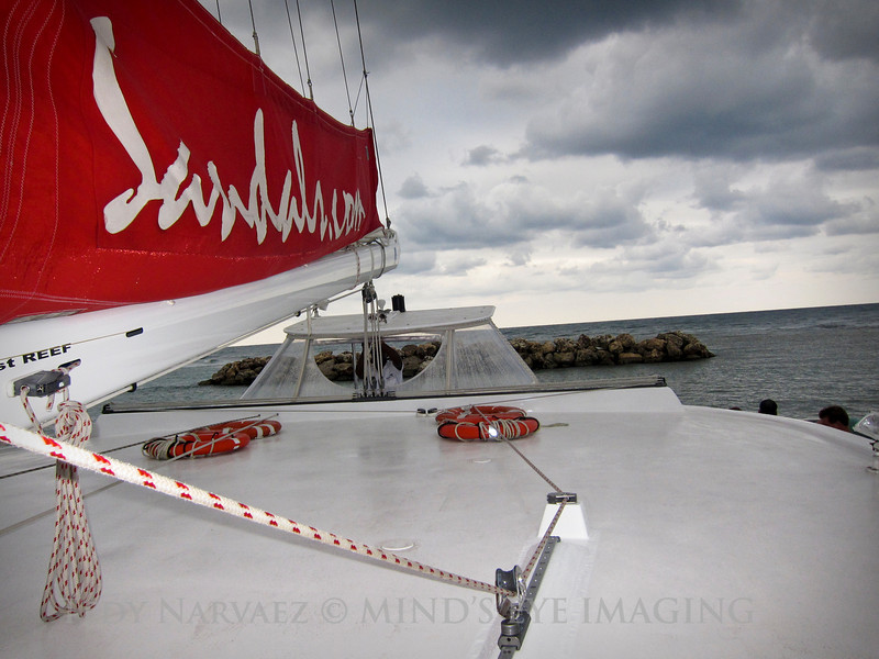 Catamaran Party Cruise   Snorkeling   Dunn's River Climb