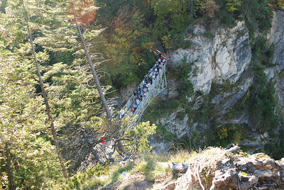 A little hiking to see if we can get better camera shots.  It was steep and dangerous!