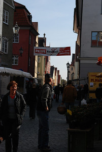 Memmingen, Germany - weekend open market