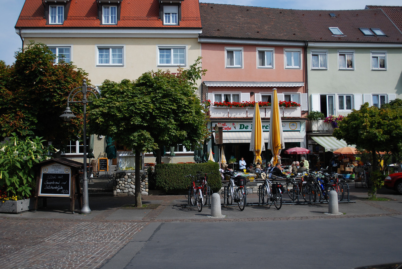 Langenargen, Germany - on the north shore of Lake Constance, Switzerland
