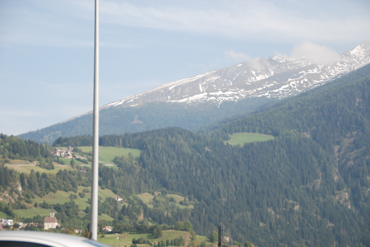 Northern Italy.  On our way back to Germany.