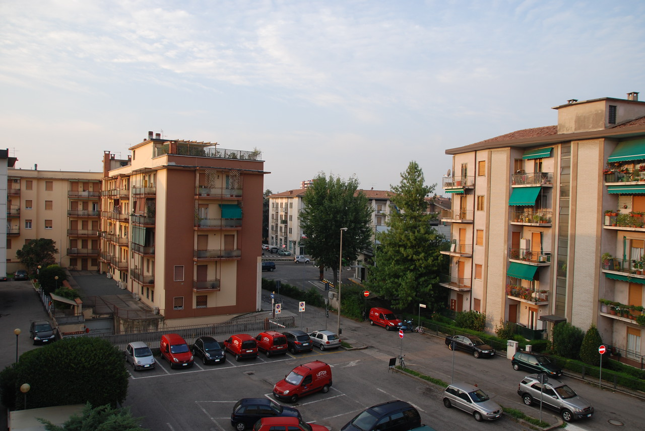 Verona, Italy.  Our only night's stay in Italy.  Looking out my hotel window.