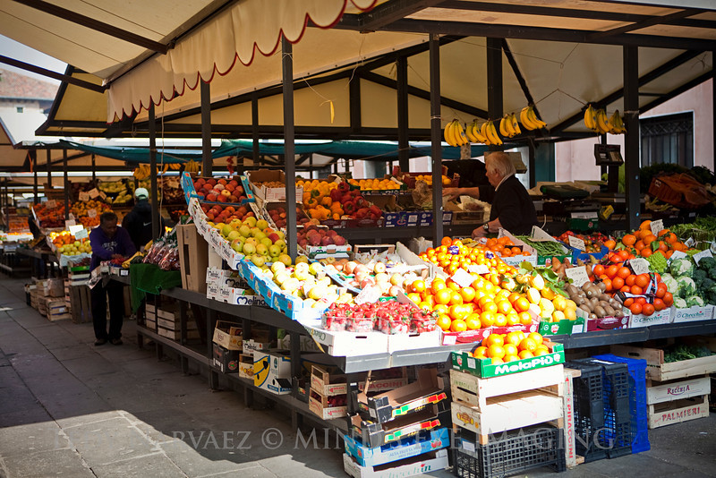 Farmer's Market in Venice.