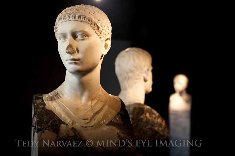 Museo Nazionale Romano : practicing shallow depth of field.