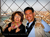 A Spanish couple were kind enough to snap this shot of us in the Bell Tower, St. Mark's Square, Venice, Italy.