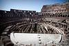 Wide angle shot inside the Coliseum.