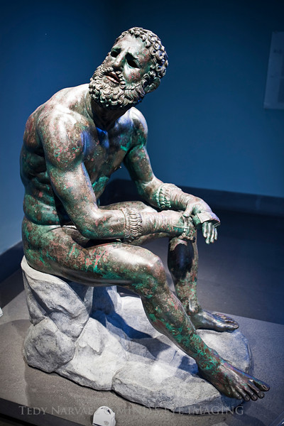 Museo Nazionale Romano : The Boxer at Rest