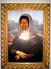 One of DaVinci's many masterpieces, the Mama Lisa!