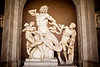 World famous sculpture in the Vatican Museum, Rome. It took my breath away when I saw it. Amazing details.