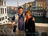 This was taken by a family from Minne-SOH-ta on the Rialto Bridge. Their daughter was moving there to be an art student... NICE!