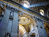 "Inside St. Peter's Basilica. The inscription reads:  ""I have prayed for you Peter, that your faith may never fail; and you in turn must strengthen your brothers"""