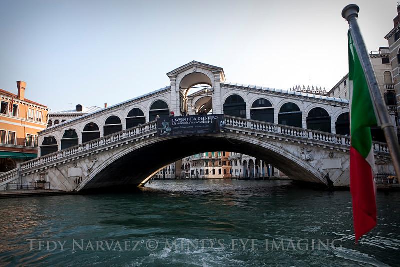 The World Famous Rialto Bridge.