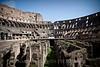 Inside the Coliseum! Amazing.