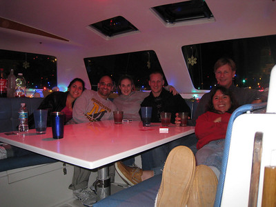 New Years with neice Candice and boyfriend Carter (center) and their friends.  It was a blast! Pow.