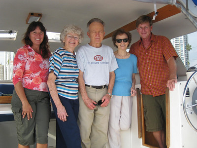 my mom and Uncle Paul and Aunt Bobbi.  Mom's sister.