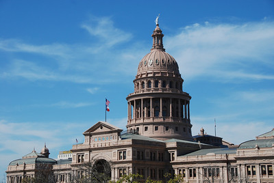 Texas state capital building - Austin, TX