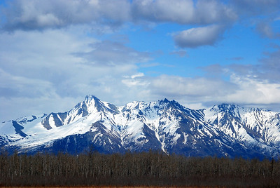 Between Anchorage and Wasilla