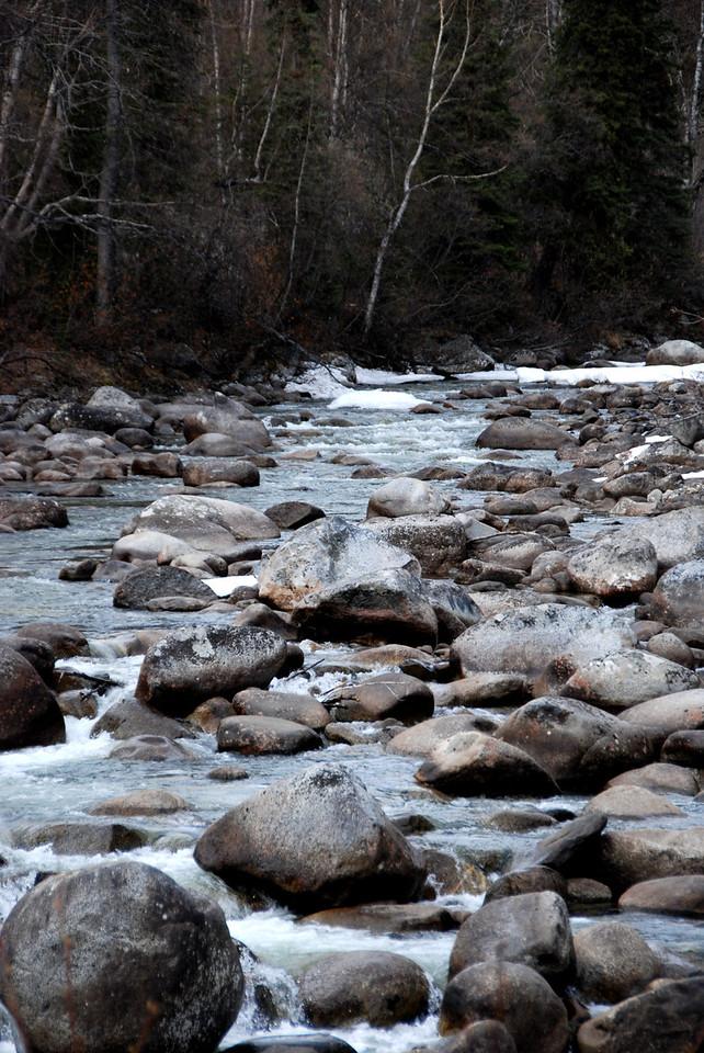 Between Anchorage and Wasilla