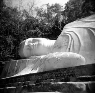 Giant Buddha outside Mui Ne, Vietnam