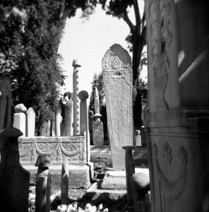 Cemetery, Istanbul Turkey