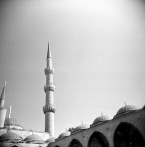 Minaret, Istanbul Turkey 2009