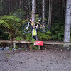 First ride after shoulder surgery - with Luke in the Redwoods
