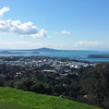 Rangitoto from Mt Eden
