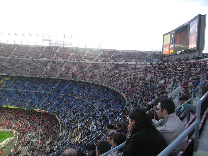 Barca vs Celta Vigo, Camp Nou