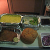 Train food comparable to airline food