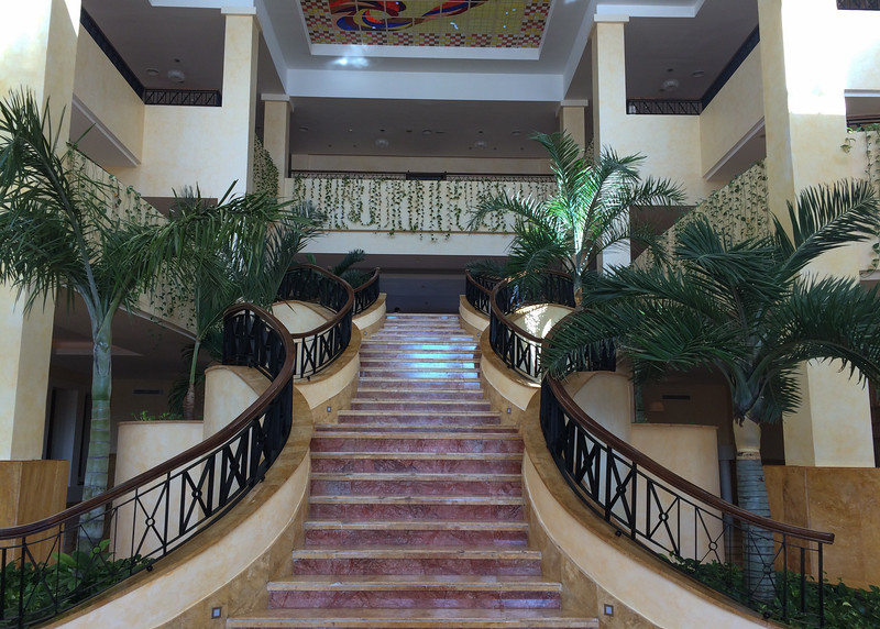 Main lobby during the day