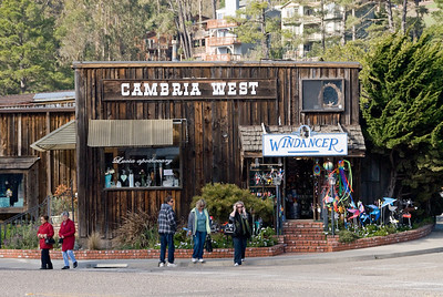 Downtown Cambria, West end