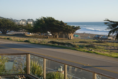 Ocean view from our Cambria house