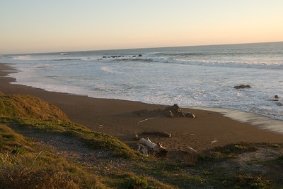 San Simeon Park, Friday afternoon