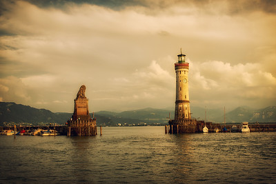Lindau Light House.  Germany 2018.