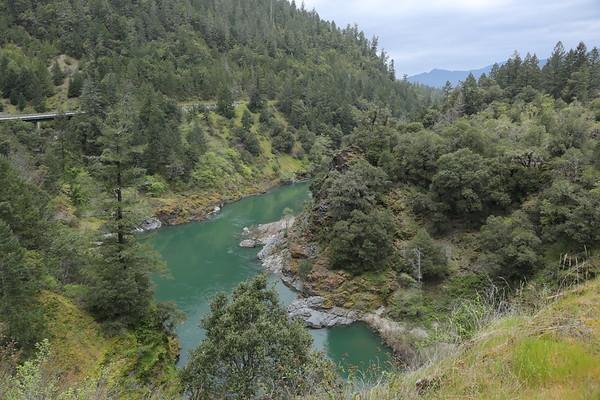 18 Northern Cal,  Eureka thru Trinity River Pass to Redding