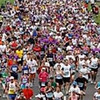 FILE-  This Sunday, June 3, 2007 file photo shows runners filling the street as they pass through San Diego's Balboa Park during the Rock 'n' Roll Marathon. Started in 1998, the Rock ëní Roll Marathon series is the champion of destination races. True to its name, these runs are as much a party as a competition.   (AP Photo/Denis Poroy, File)