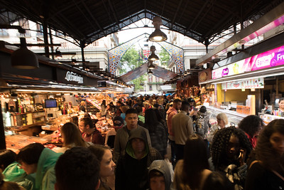 La Boqueria, Barcelona. Photo by Weldon Weaver. June 2019.