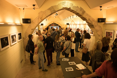 Tarragona art gallery. Photo by Weldon Weaver. June 2019.
